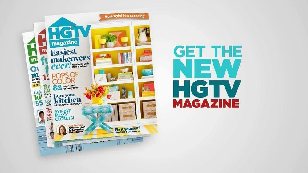HGTV Magazine TV Commercial 'January' - Video