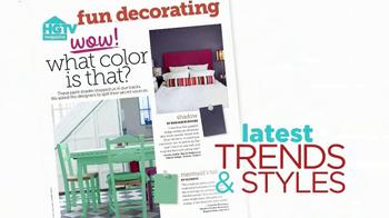 HGTV Magazine TV Spot 'January' - Thumbnail 2