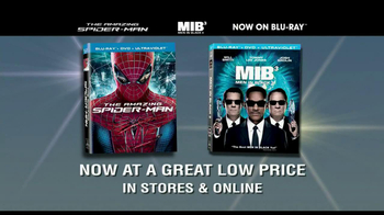The Amazing Spider-Man | Men In Black 3 Blu-Ray and DVD TV Spot