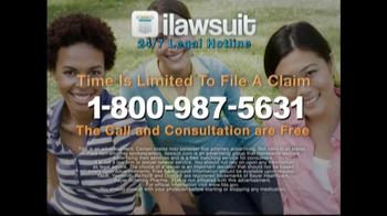 iLawsuit Legal Hotline TV Spot, 'Breaking News Update' - Thumbnail 8