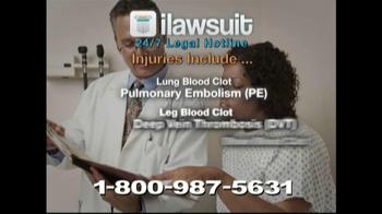 iLawsuit Legal Hotline TV Spot, 'Breaking News Update' - Thumbnail 4