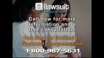 iLawsuit Legal Hotline TV Spot, 'Breaking News Update' - Thumbnail 7