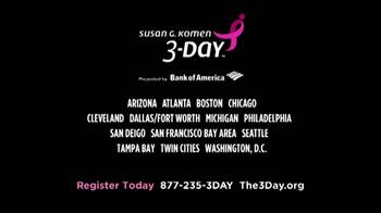 Susan G. Komen for the Cure 3-Day TV Spot, 'Beautiful' - Thumbnail 4