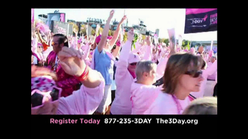 Susan G. Komen for the Cure 3-Day TV Spot, \'Beautiful\'