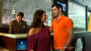 Gaylord Hotels TV Spot, 'Romantic Weekend' - 8 commercial airings