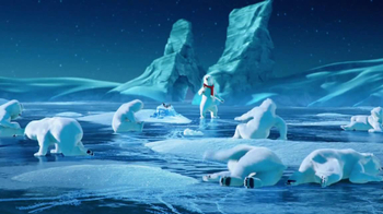 Coca-Cola TV Spot, 'Polar Bear Football' - Thumbnail 9
