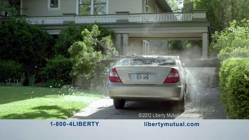 Geico Accident Forgiveness >> Liberty Mutual TV Commercial, 'Humans: Chainsaw' - iSpot.tv