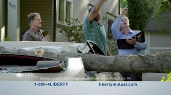 Liberty Mutual TV Spot, 'Humans: Chainsaw' - Thumbnail 10
