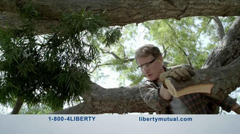 Liberty Mutual TV Spot, 'Humans: Chainsaw' - Thumbnail 3