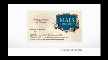 Vistaprint TV Spot for Maps of Antiquity - Thumbnail 5
