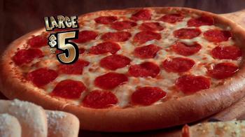 Little Caesars Pizza TV Spot, 'The Big Game' - Thumbnail 5