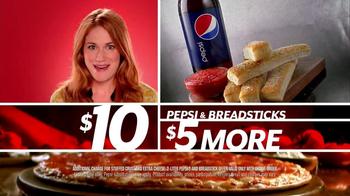 Pizza Hut $10 Any Pizza TV Spot, 'Make It Great' - Thumbnail 9