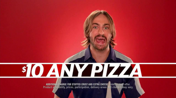 Pizza Hut $10 Any Pizza TV Spot, \'Make It Great\'