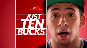 Pizza Hut $10 Any Pizza TV Spot, 'Make It Great' - Thumbnail 5