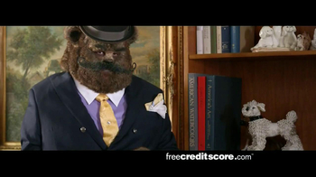 FreeCreditScore.com TV Spot, \'Fancy Bear Slider\'
