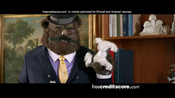 FreeCreditScore.com TV Spot, 'Fancy Bear Slider' - Thumbnail 9