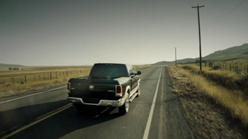 2013 Ram 1500 TV Spot, 'Earth Split' Featuring Sam Elliott - Thumbnail 9
