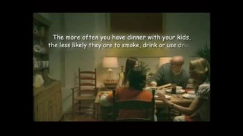 CASA Family Day TV Spot, 'Dinner Makes a Difference' - Thumbnail 5