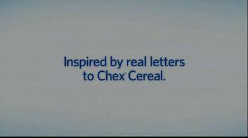 Chex TV Spot, 'Fan Letter: The Harris Family' - Thumbnail 1