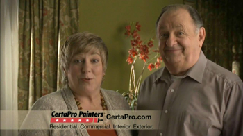 CertaPro Painters TV Spot