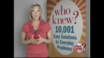 Who Knew? TV Spot, 'Tips' - Thumbnail 3