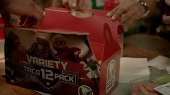 Taco Bell Variety 12 Pack TV Spot, 'Veggies' - Thumbnail 4