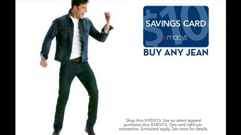 Macy's Week of Wonderful TV Spot, 'Savings Card' Featuring Clinton Kelly  - Thumbnail 4