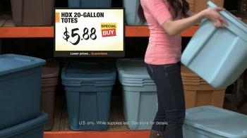 The Home Depot TV Spot, 'New Year's Clutter' - Thumbnail 9