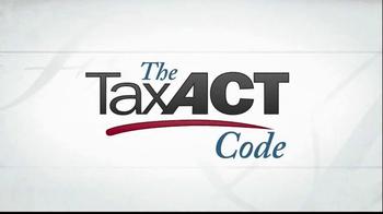 TaxACT TV Spot, 'Tax Act Code' - Thumbnail 1