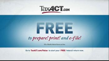 TaxACT TV Spot, 'Tax Act Code' - Thumbnail 9
