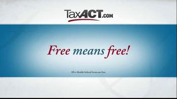 TaxACT TV Spot, 'Tax Act Code' - Thumbnail 2