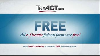 TaxACT TV Spot, 'Tax Act Code' - Thumbnail 6