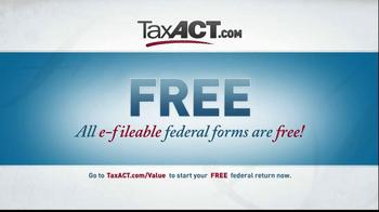 TaxACT TV Spot, 'Tax Act Code' - Thumbnail 7