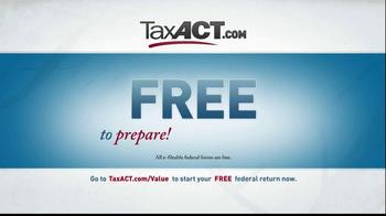TaxACT TV Spot, 'Tax Act Code' - Thumbnail 8