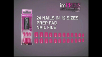 Impress Manicure Press On Nails Tv Commercial Ispot Tv
