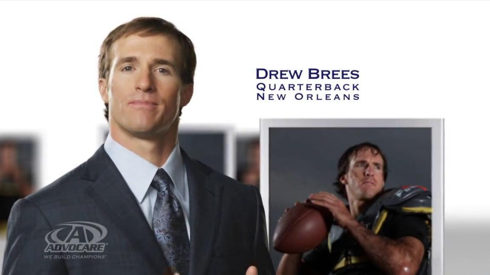 AdvoCare TV Commercial Featuring Drew Brees