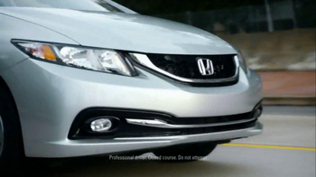 2013 Honda Civic TV Spot, 'Things Can Always Be Better' Song by Santigold - Thumbnail 7