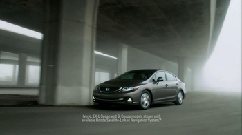 2013 Honda Civic TV Spot, 'Things Can Always Be Better' Song by Santigold - Thumbnail 8