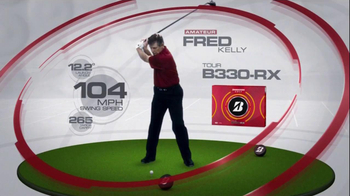 Bridgestone B330-RX TV Spot, 'Bridge the Gap' Featuring Fred Couples - Thumbnail 6