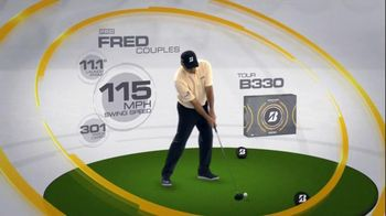 Bridgestone B330-RX TV Spot, 'Bridge the Gap' Featuring Fred Couples - 2 commercial airings