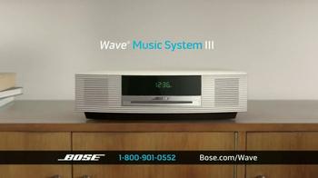 Bose Wave Music System III TV Spot, 'Performance' - Thumbnail 3