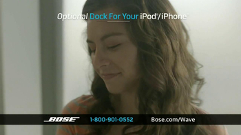 Bose Wave Music System III TV Spot, 'Performance' - Thumbnail 8