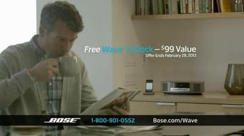 Bose Wave Music System III TV Spot, 'Performance' - Thumbnail 9