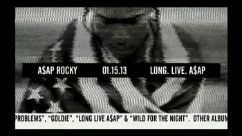 ASAP Rocky 'Long Live ASAP' TV Spot
