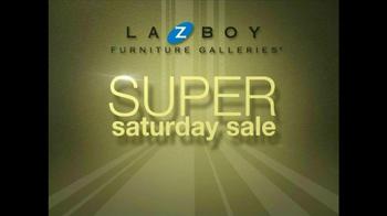La-Z-Boy TV Spot, 'Super Saturday Sale' - Thumbnail 8