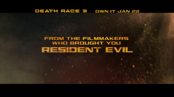 Death Race 3 Inferno Blu-Ray and DVD TV Spot  - Thumbnail 3