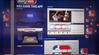 NBA Game Time App TV Spot  - 567 commercial airings