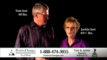 Positive Changes TV Spot, 'Tom and Jackie Gentry' - Thumbnail 2
