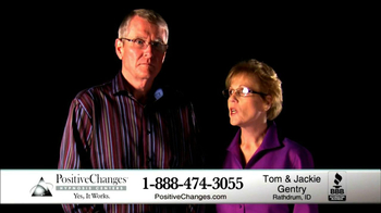 Positive Changes TV Spot, 'Tom and Jackie Gentry' - Thumbnail 3