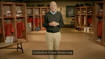 Catholics Come Home TV Spot Featuring Coach Lou Holtz - Thumbnail 2